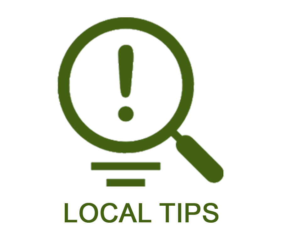 LOCAL TIPS